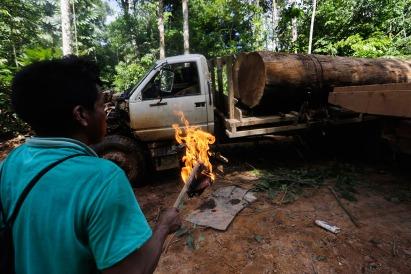 amazon-indians-strip-tie-beat-illegal-loggers2